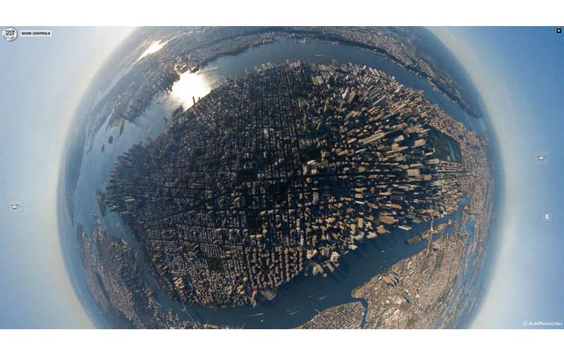 Top Ten 360-Panoramas of Cities Around the World