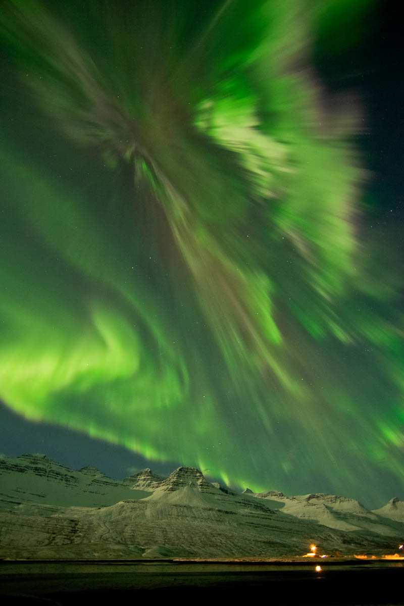 northern lights aurora borealis in iceland Picture of the Day: The Most Incredible Aurora of 2012