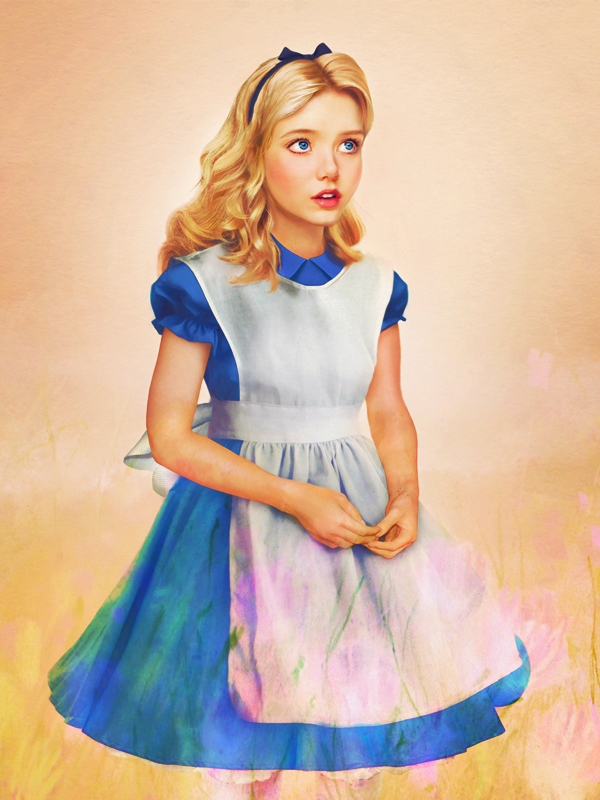 real life disney character alice in wonderland What Female Disney Characters Might Look Like in Real Life