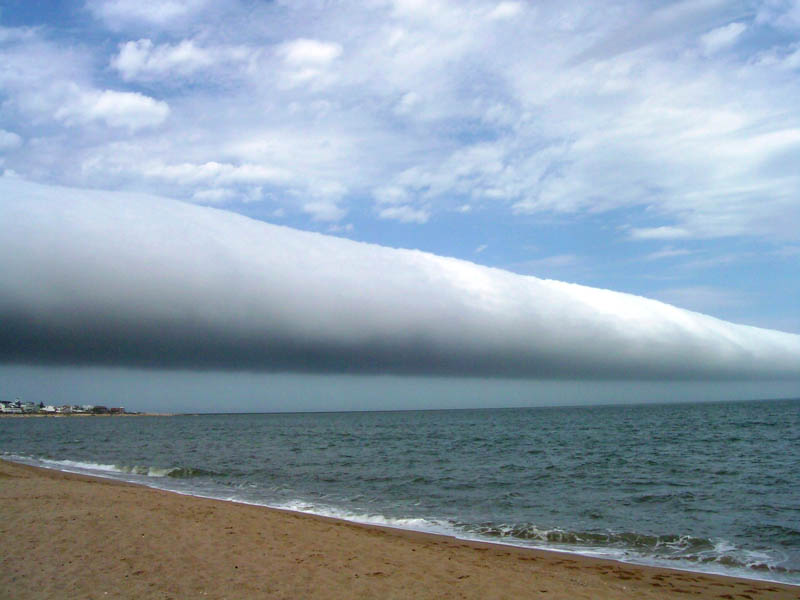 roll cloud uruguay 15 Volcanic Eruptions Seen from Space