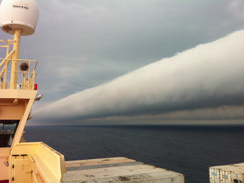 roll clouds 15 Incredible Cloud Formations