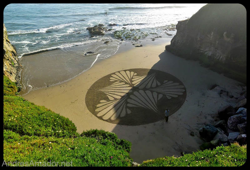 sand beach art andres amador 7 The Incredible Beach Art of Andres Amador