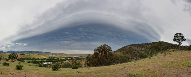 shelf cloud 15 Incredible Cloud Formations