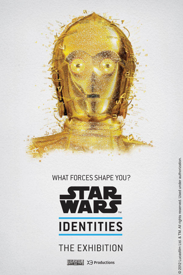 star wars identities poster c3po 1 Star Wars Identities Posters Show What Characters Are Made Of