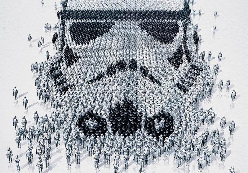 star wars identities poster stormtropper 1 Star Wars Identities Posters Show What Characters Are Made Of