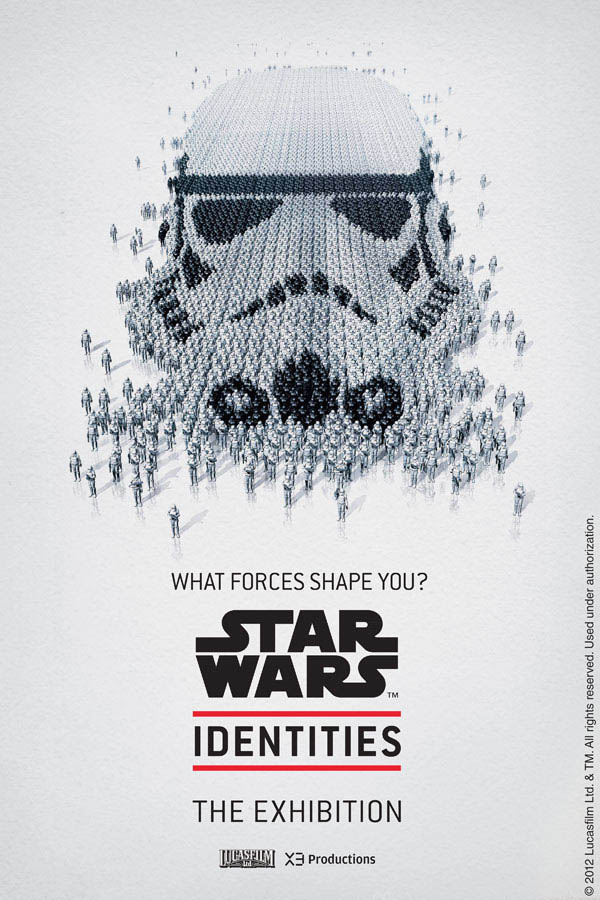 star wars identities poster stormtropper 2 Star Wars Identities Posters Show What Characters Are Made Of