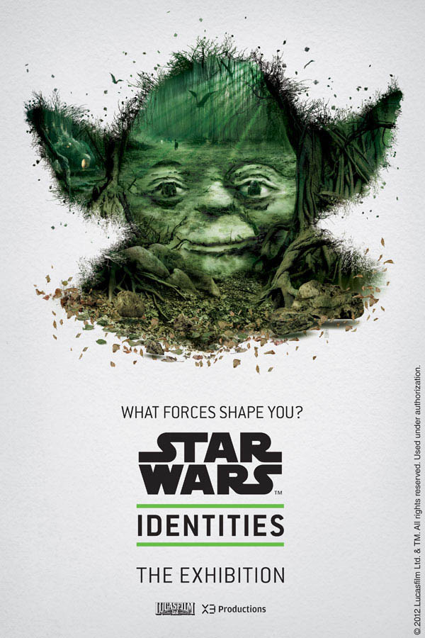 star wars identities poster yoda 1 Star Wars Identities Posters Show What Characters Are Made Of