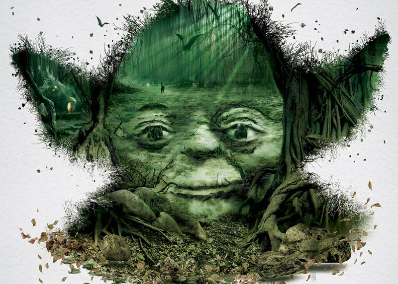 star wars identities poster yoda 2 Star Wars Identities Posters Show What Characters Are Made Of