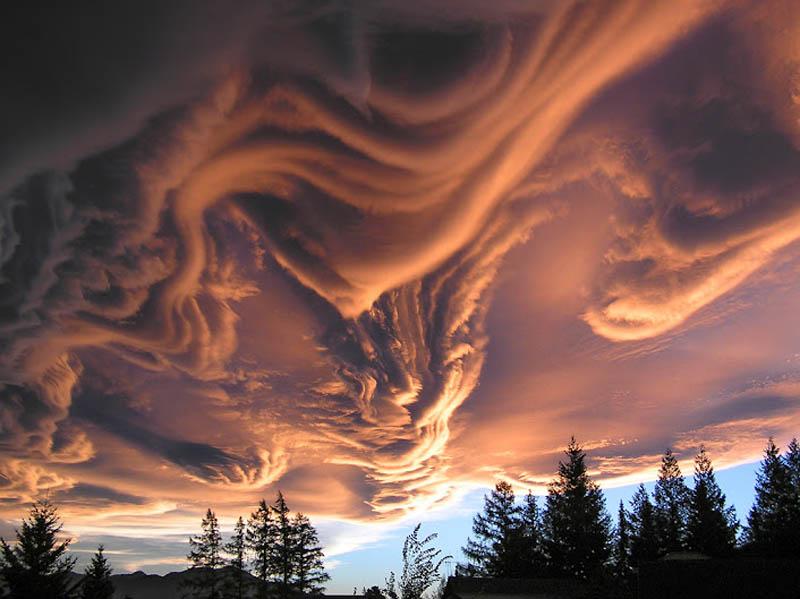 undulatus asperatus 15 Incredible Cloud Formations