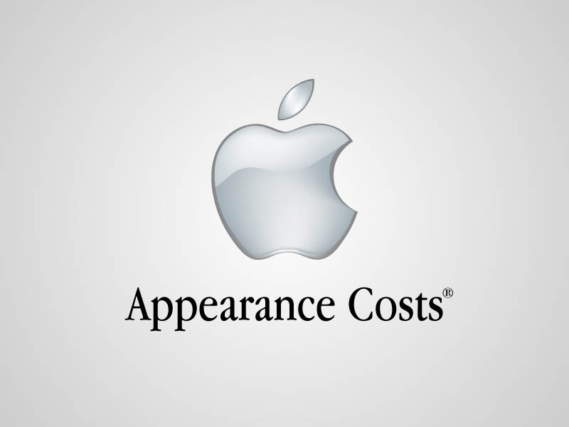 apple funny honest logo What if Logos Told the Truth?