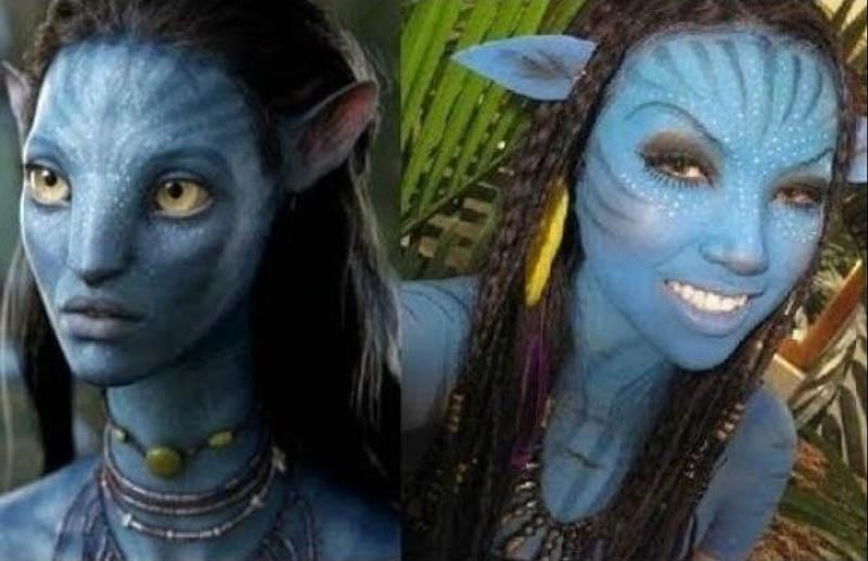 avatar navi youtube makeup celebrity promise pham 21 Amazing Transformations by a YouTube Makeup Queen