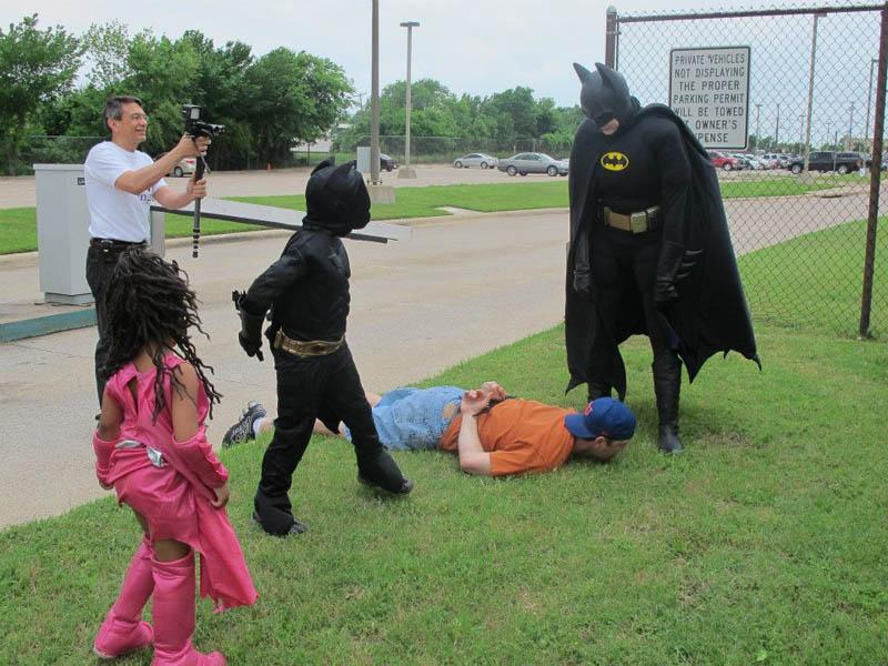 boy with leukemia batman for day arlington texas 16 Boy With Leukemia Becomes Batman for a Day