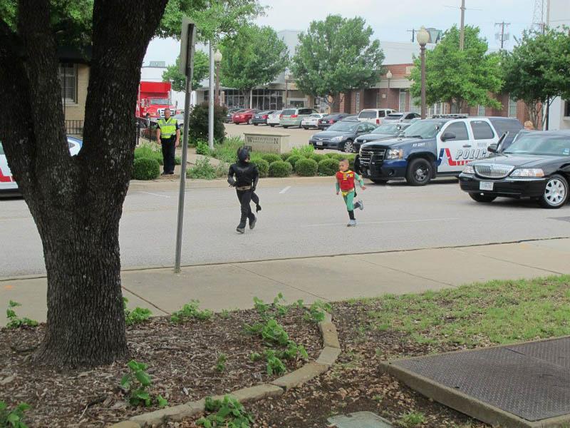 boy with leukemia batman for day arlington texas 17 Boy With Leukemia Becomes Batman for a Day