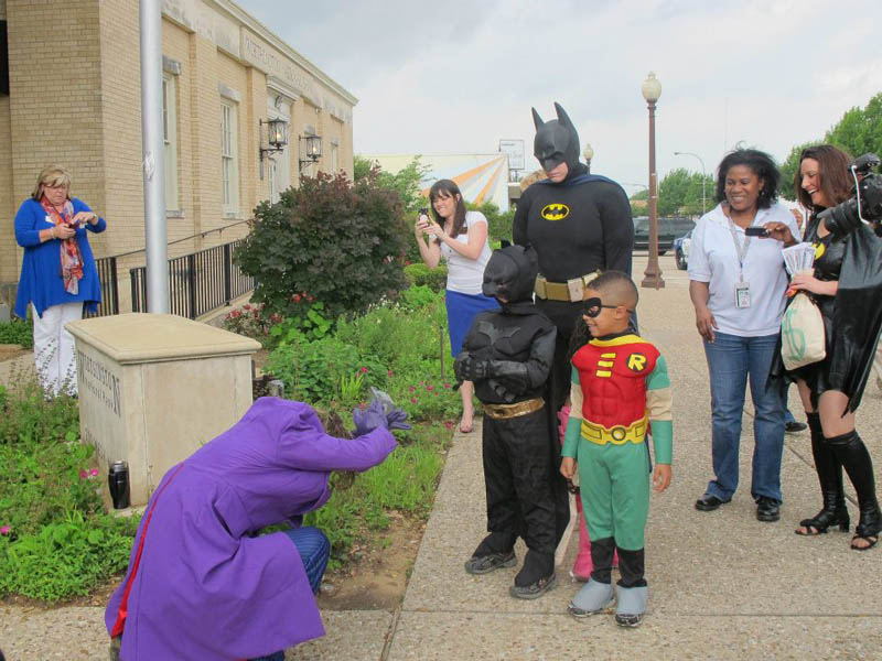 boy with leukemia batman for day arlington texas 18 Boy With Leukemia Becomes Batman for a Day