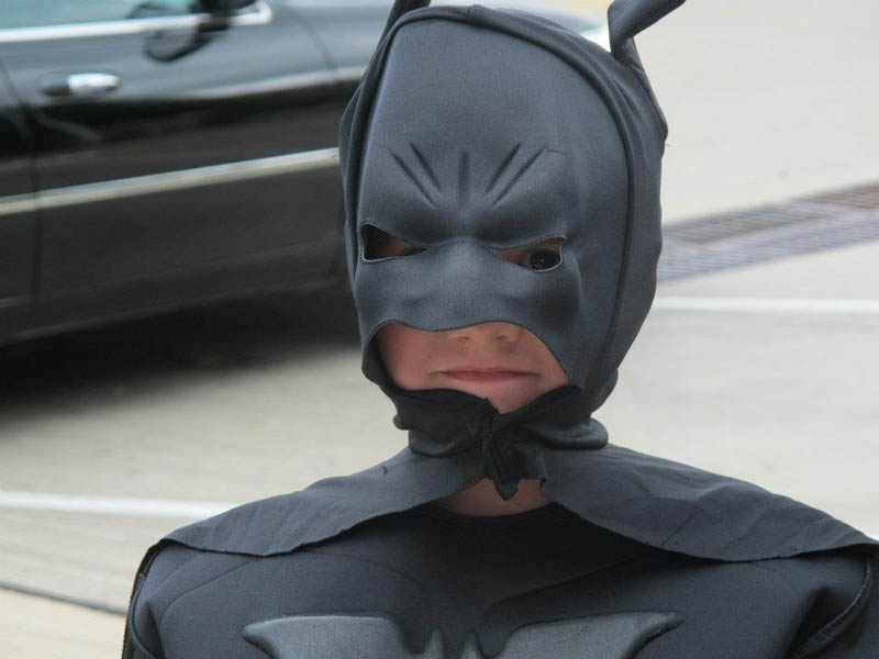 boy with leukemia batman for day arlington texas 23 Boy With Leukemia Becomes Batman for a Day