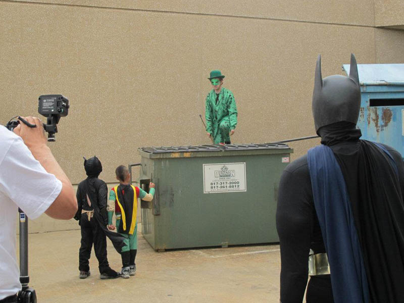 boy with leukemia batman for day arlington texas 4 Boy With Leukemia Becomes Batman for a Day