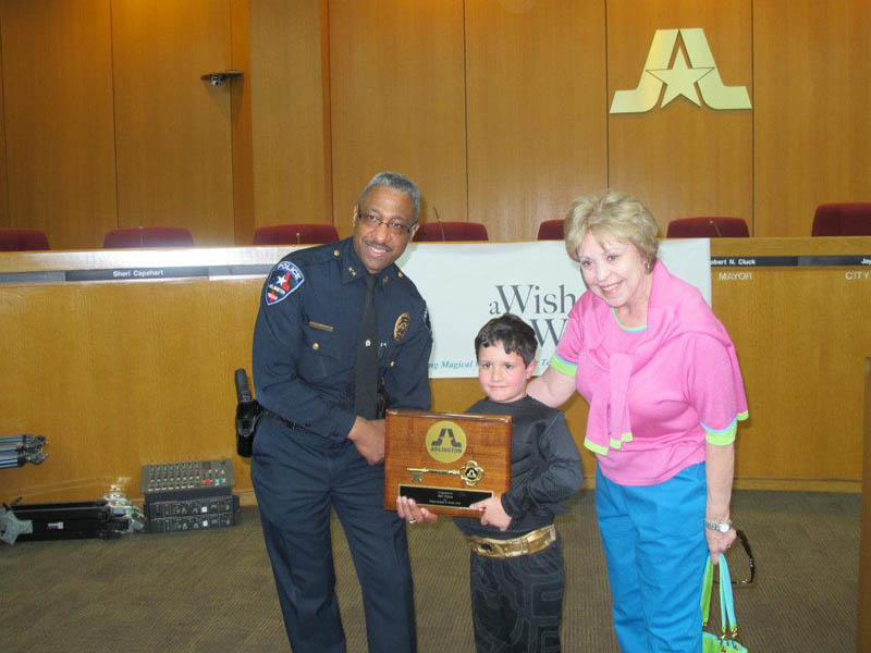 boy with leukemia batman for day arlington texas 5 Boy With Leukemia Becomes Batman for a Day
