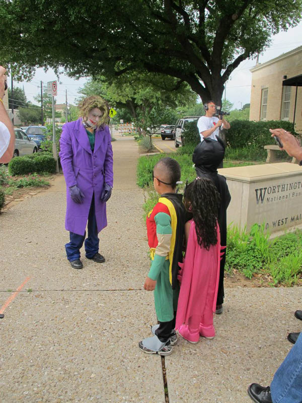 boy with leukemia batman for day arlington texas 6 Boy With Leukemia Becomes Batman for a Day