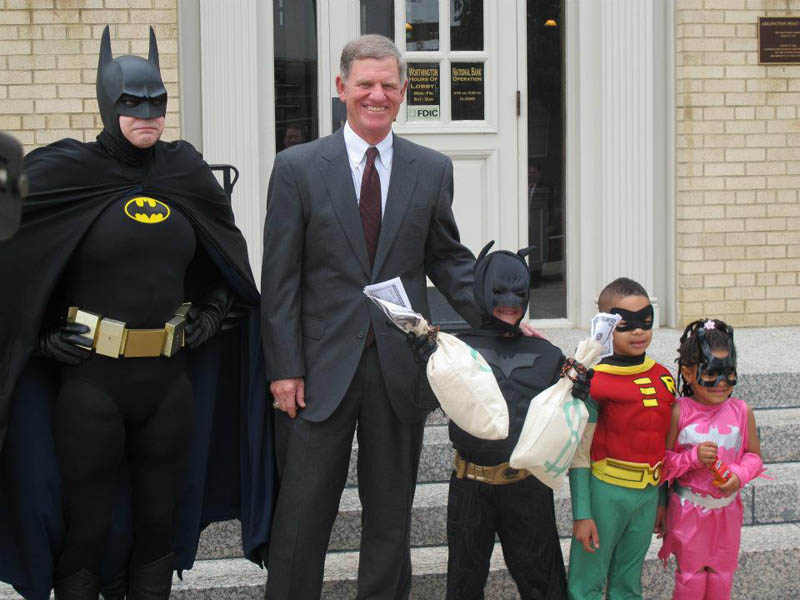 boy with leukemia batman for day arlington texas 7 Boy With Leukemia Becomes Batman for a Day