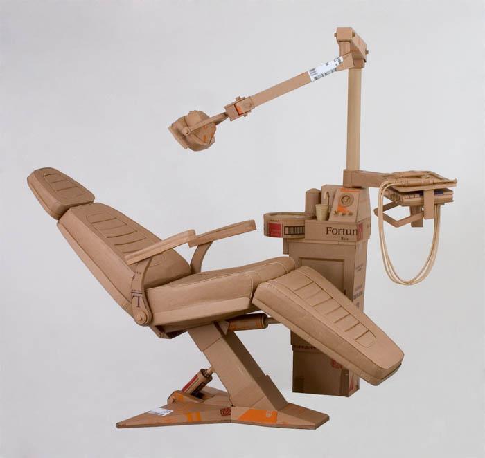 cardboard art sculptures chris gilmour 11 30 Amazing Sculptures Made out of Cardboard