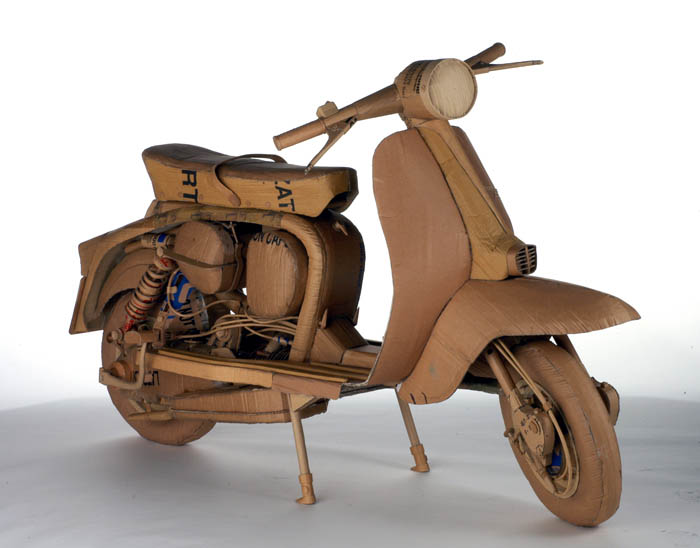 30 Amazing Sculptures Made out of Cardboard «TwistedSifter