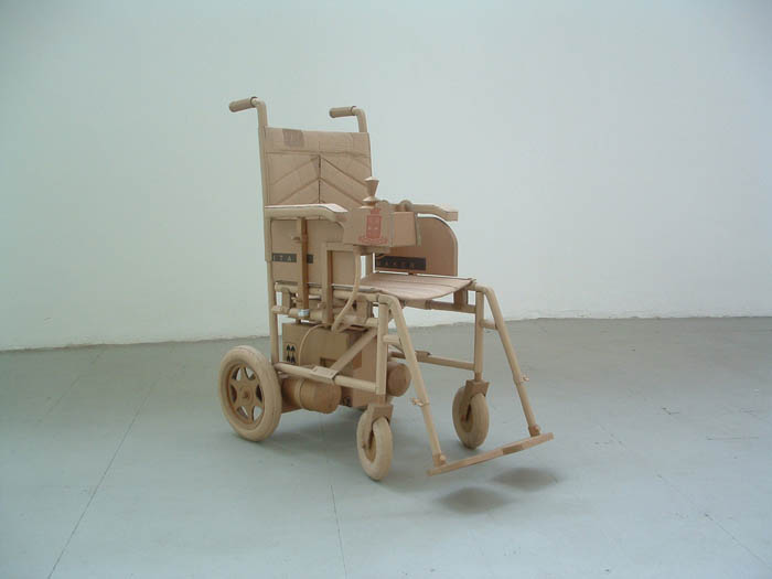 cardboard art sculptures chris gilmour 6 30 Amazing Sculptures Made out of Cardboard
