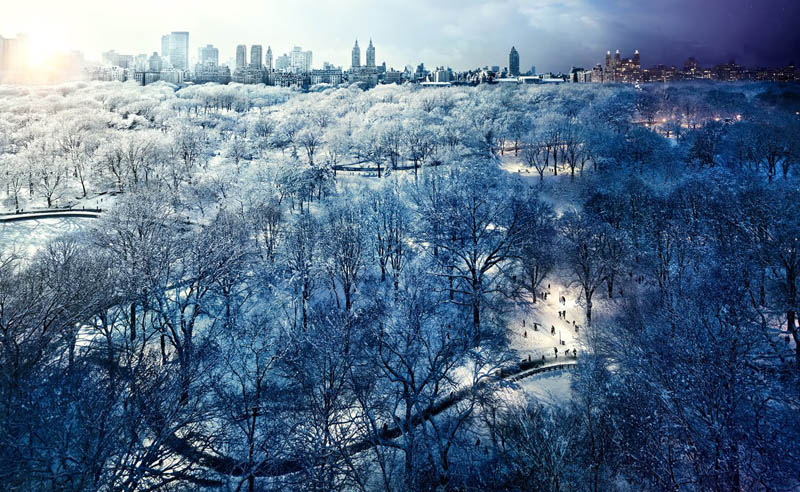 central park day to night in same photograph stephen wilkes Blending Day and Night into a Single Photograph