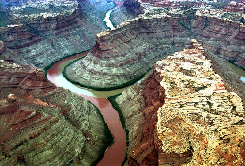 colorado river and green river confluence canyonlands national park utah When Rivers Collide: 10 Confluences Around the World