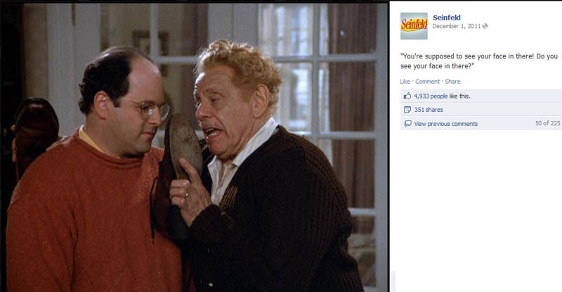 frank costanza seinfeld 50 Glorious Moments on Seinfeld