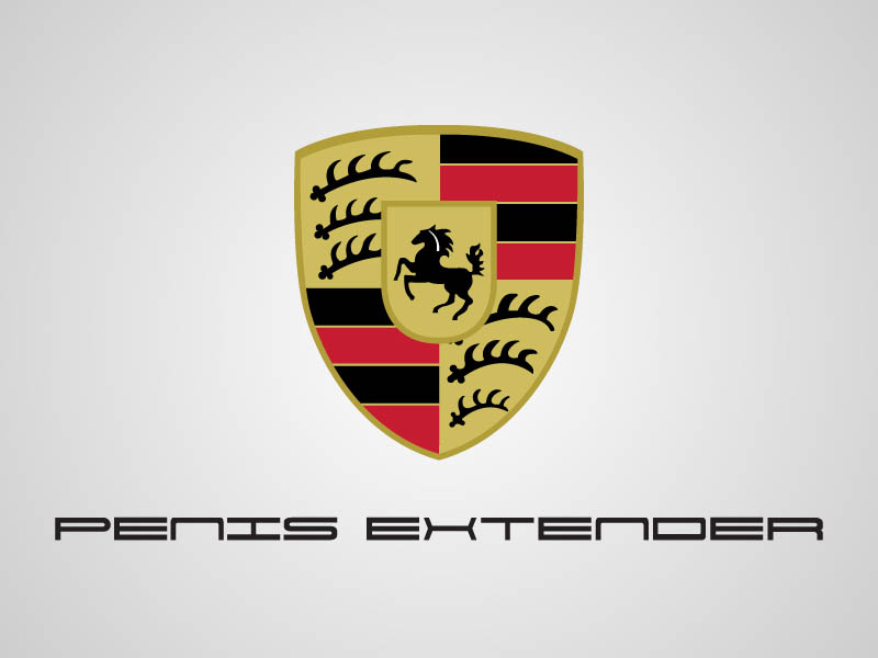 funny porsche logo What if Logos Told the Truth?