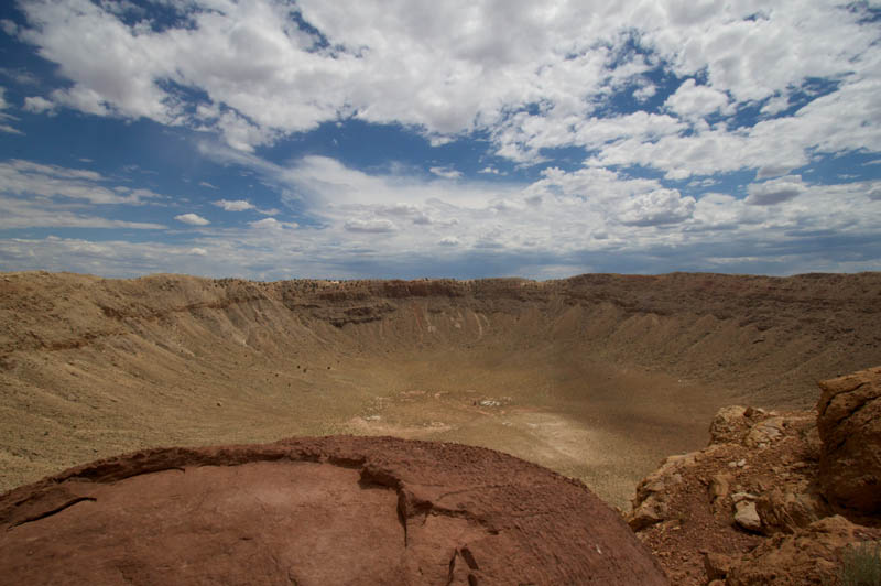 giant barringer meteor crater arizona 3 The Giant Barringer Meteor Crater in Arizona