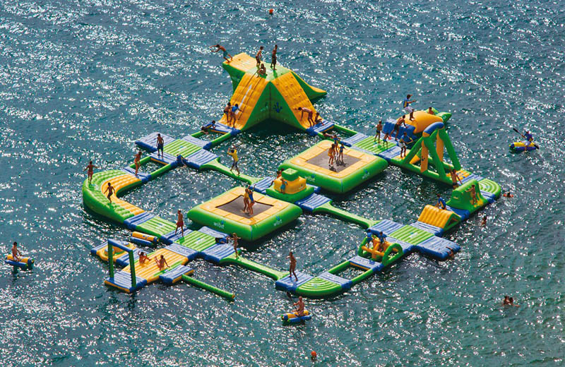 The Most Amazing Inflatable Water Parks Ever