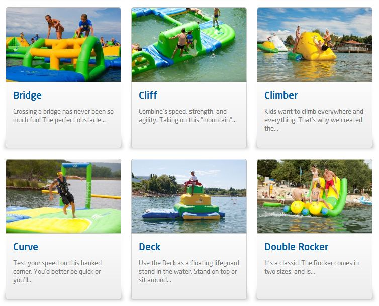 giant inflatable water parks wibit sports modular 14 The Most Amazing Inflatable Water Parks Ever