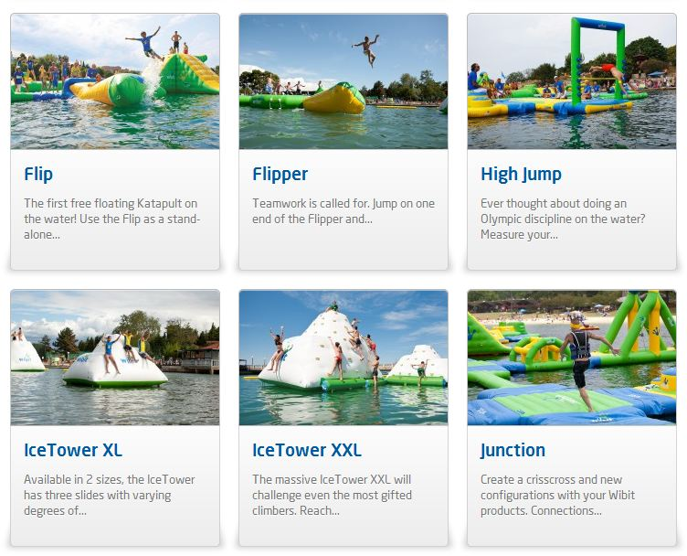 giant inflatable water parks wibit sports modular 15 The Most Amazing Inflatable Water Parks Ever