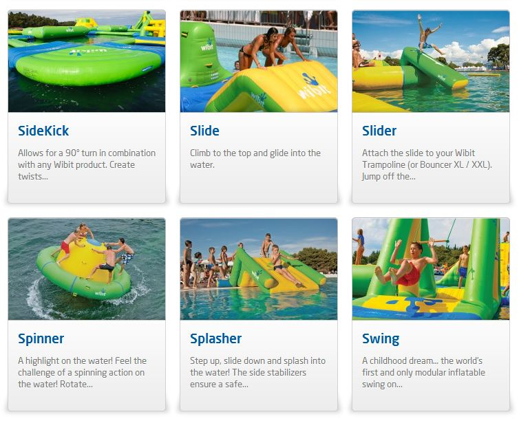 giant inflatable water parks wibit sports modular 18 The Most Amazing Inflatable Water Parks Ever