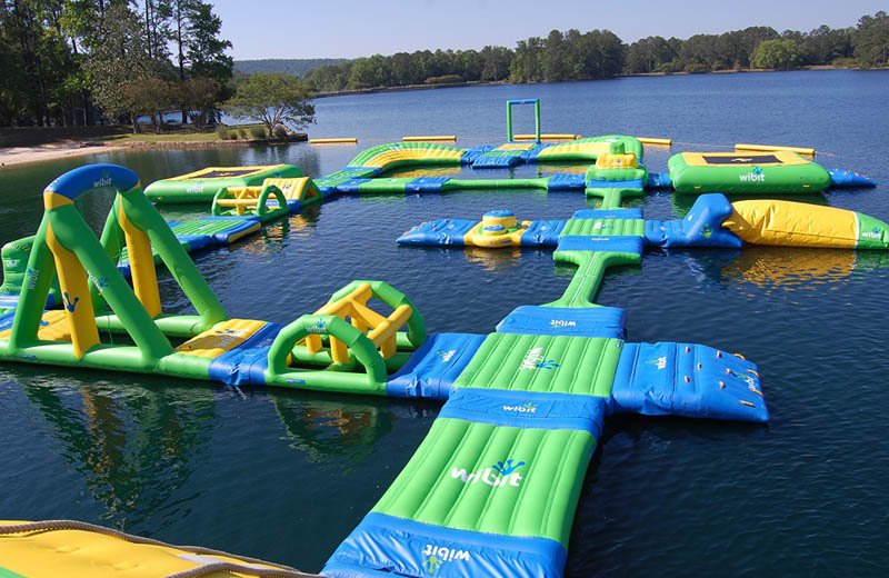 giant inflatable water parks wibit sports modular 3 The Most Amazing Inflatable Water Parks Ever