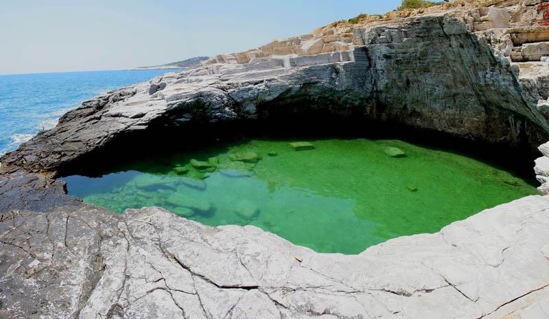 giola lagoon natural pool thassos greece 3 The Giola Lagoon in Greece