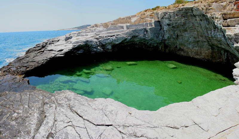 giola lagoon natural pool thassos greece 3 The Giola Lagoon in Greece