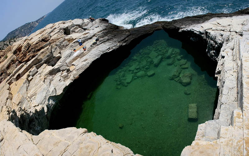 giola lagoon natural pool thassos greece 4 The Giola Lagoon in Greece