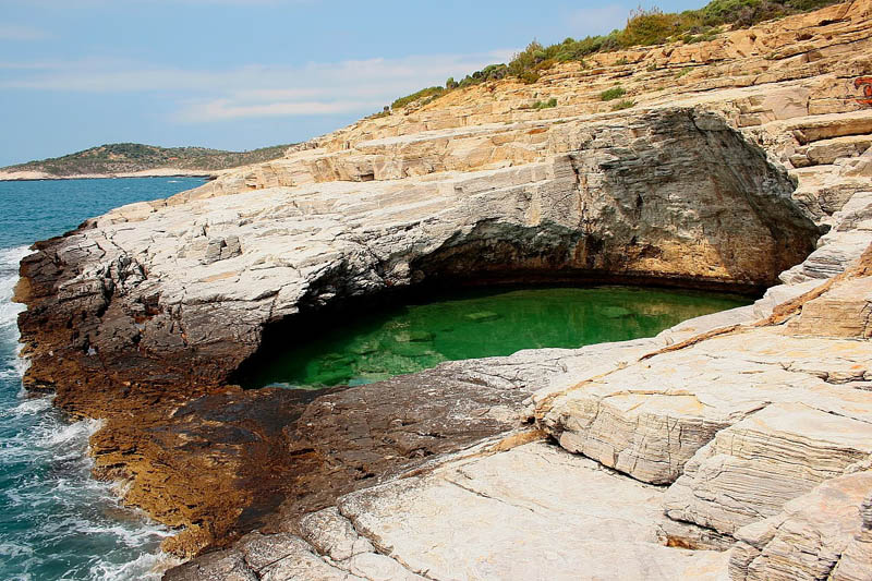 giola lagoon natural pool thassos greece 5 The Giola Lagoon in Greece