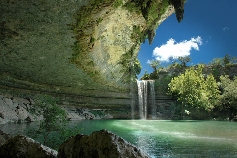 hamilton pool nature preserve austin texas Picture of the Day: The Incredible Hamilton Pool Nature Preserve