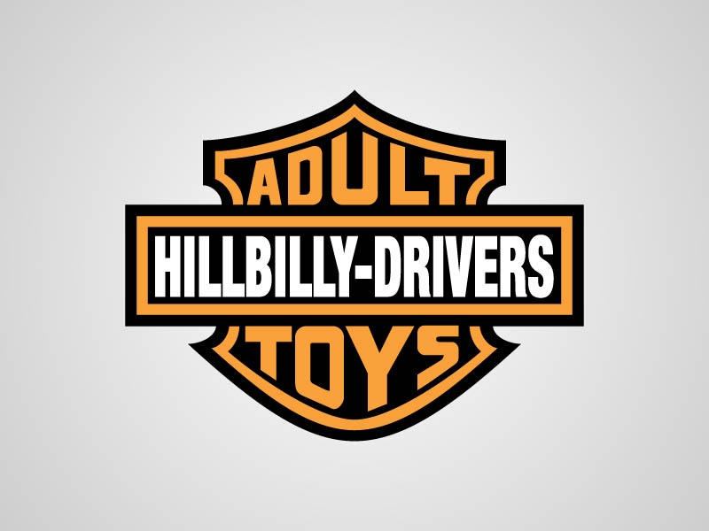 Harley Davidson Funny Honest Logo