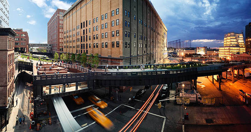 high line day to night in same photograph stephen wilkes Blending Day and Night into a Single Photograph