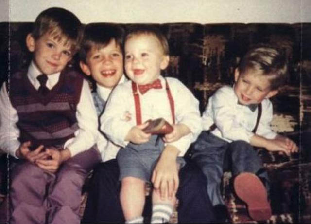 kings of leon when they were kids childhood photo 40 Music Stars Before They Were Famous