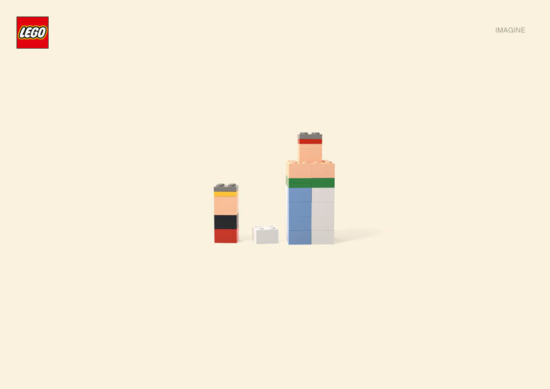 lego asterixobelix Recreating Famous Cartoon Characters Using the Least Lego Pieces