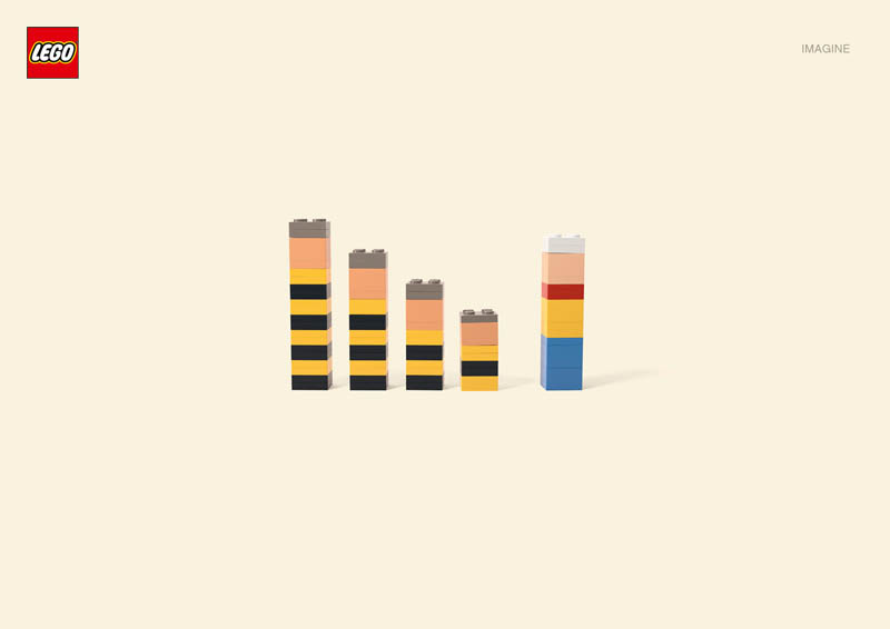 lego luckylukedaltons Recreating Famous Cartoon Characters Using the Least Lego Pieces