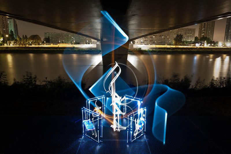 Beautiful Light Calligraphy by Julien Breton [25pics]