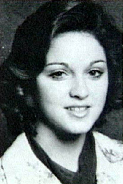 madonna high school photo younger childhood picture 40 Music Stars Before They Were Famous