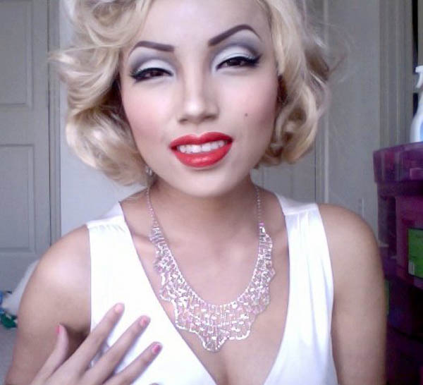 marilyn monroe youtube makeup celebrity promise pham 21 Amazing Transformations by a YouTube Makeup Queen