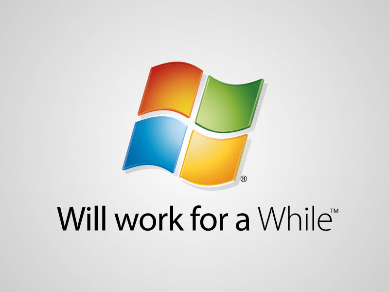 microsoft windows funny honest logo What if Logos Told the Truth?